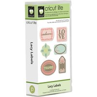 Cricut Lite Cartridge Lacy Labels