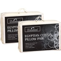 BOGOF Downland Egyptian Cotton Pair of Pillows 249195