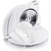 Swan Compact White Food Slicer - White 286254