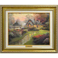 Thomas Kinkade Make a Wish Cottage Open Edition Canvas 327006