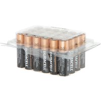 24 AA Duracell Batteries in Tub 327122