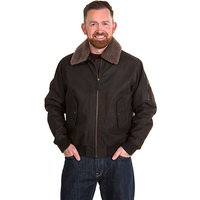 Woodland Leather Mens Aviator Jacket 334996