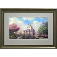 Thomas Kinkade A New Day at Cinderellas Castle Open Edition Framed Print 335997