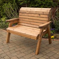 Charles Taylor Tradtional 2 Seater Bench 341696