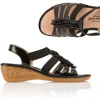 Cushion Walk Beaded Sandal 355882