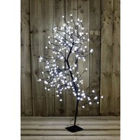 White Blossom LED 150cm Bonsai Tree 356188