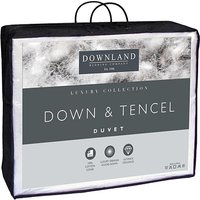 Downland Tencel and Down Luxury 10 5 Tog Duvet Double 356539