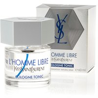 Yves Saint Laurent LHomme Libre Cologne Tonic Eau De Cologne 60ml 357616