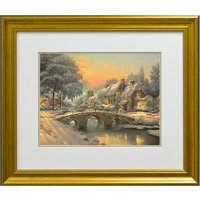 Thomas Kinkade Cobblestone Christmas Open Edition Print 359267