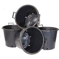 Pack of 4 Heavy Duty 30L Pots with Handles 360290