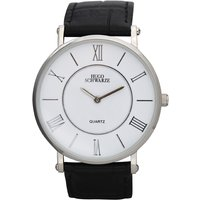 Hugo Schwarze Gents Kendall Watch with Leather Buckle Strap 364443