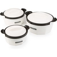 Cookshop Set of 3 Insulated Dishes   Fiona Range 368262
