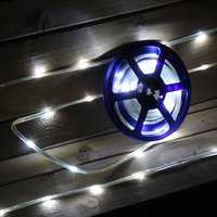 5m White Tape Light Outdoor/Indoor Use 370594