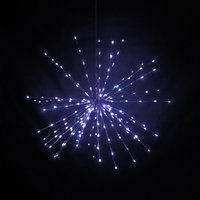 80cm Multi Action Hanging Star Outdoor Indoor Use 370599