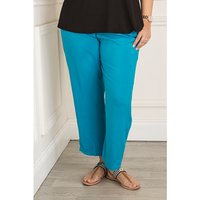 Elasticated Waist Viscose Trouser 376505