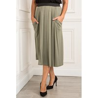 Nicole Drape Pocket Skirt 376614