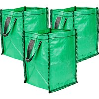 Set of 3 x 45L All Purpose Garden Tidy Bags 383766