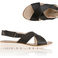 Cushion Walk Comfort Leather Slider Sandal 386799