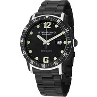 Stuhrling Gents Trofeo Watch with PVD Stainless Steel Strap 388264