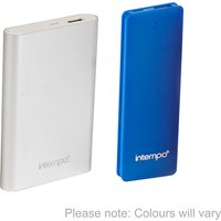 Intempo 8000 mAh and 2600 mAh Power Bank Charger in Assorted Colours 390761