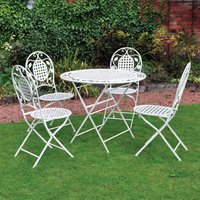 5 Piece Vintage Outdoor Dining Set 392884