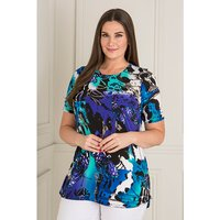 Anamor Short Sleeve Longline Top 400308