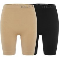 Bella Bodies Twin Pack Firming Shorts 400609