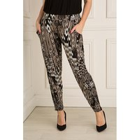Styled By Print Tapered Trouser 400694