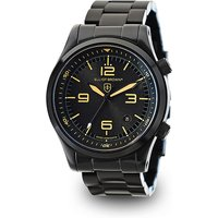 Elliot Brown Gents Canford Watch with Swiss Movement and PVD Plated Stainless Steel Bracelet 401133