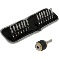 14 Piece Diamond Tipped Screwdriver Set and Quick Release Bit Holder 401532