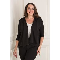 Nicole Crepe Waterfall Jacket 401639