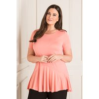 Daisy Eldridge Circle Frill Hem Top 403531
