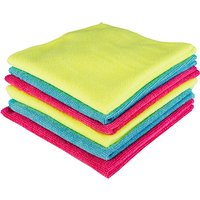 Kingfisher 6 Pack Microfibre Cloths 403678
