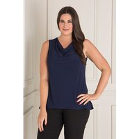 Nicole Cowl Neck Sleeveless Top 404527