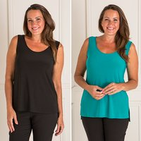 Styled By 2 Pack High Low Cami 407280