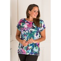 Styled By Two Way Print Detail Top 407281