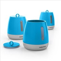 Set Of 3 Storage Canisters 408344