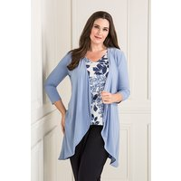 Nicole Jacket with Print Two Way Camisole 408775