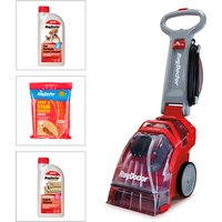 Rug Doctor Upright Carpet Cleaner with 2x 1L Formula and Stain Wipes 409188