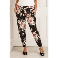 Styled By Printed Tapered Trouser 409199