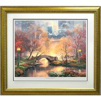 Thomas Kinkade Central Park In The Fall Limited Edition Print 409242