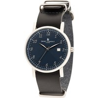 Smart Turnout London Gents Navy Face Savant Watch with Leather Strap 425809