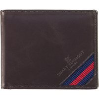 Strap Front Leather Wallet 426388