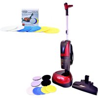 Ewbank Floor Polisher and Vacuum Total Floor Care Solution with Refill Pack 426549