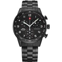 Swiss Military Gents Chronograph with Stainless Steel Bracelet 426948