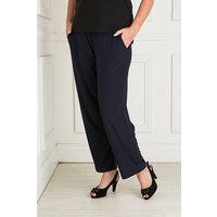 Styled By Straight Leg Trouser with Pockets 427472