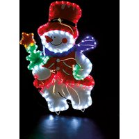 Snowman with Coloured PVC Background 427483