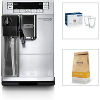 Delonghi PrimaDonna XS Bean to Cup Machine with Glass Set and Coffee Beans 428865