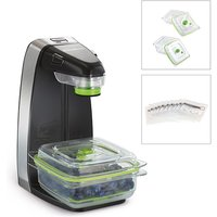 FoodSaver Vertical Vacuum Sealer with 3 x Containers and 5 Vacuum Zipper Bags 432987