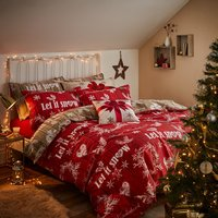 Christmas Garland Double Size Quilt Set 433261